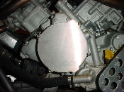 Kawasaki KFX 700 ignition stator cover