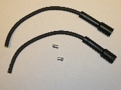 High performance spark plug wires/boots kit